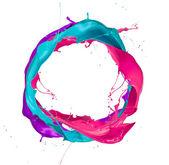 Fotografia spruzzi colorati