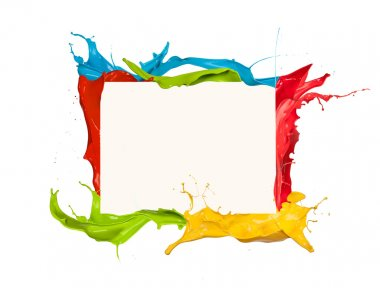 Colored frame