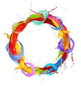 Fotografia cerchio colorato