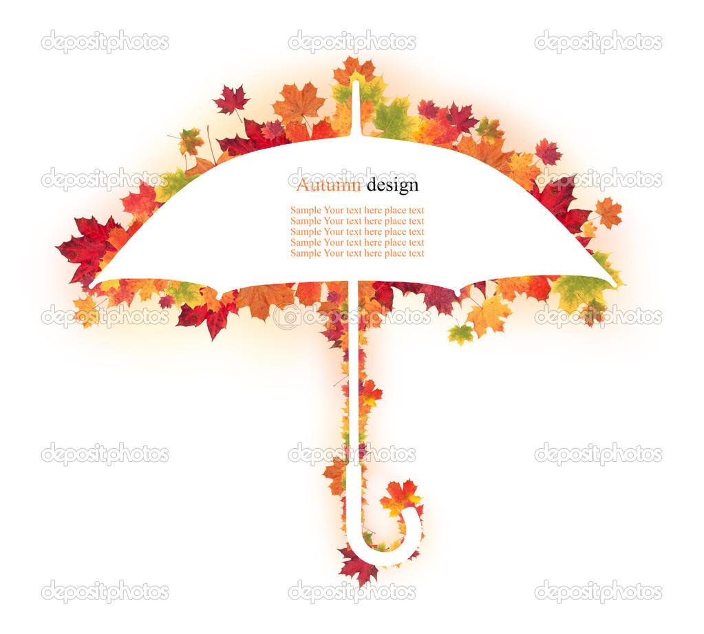 Favoloso disegno di foglie d'autunno — Foto Stock © jag_cz #30262297 AF27