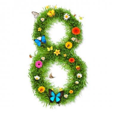 Spring number 8