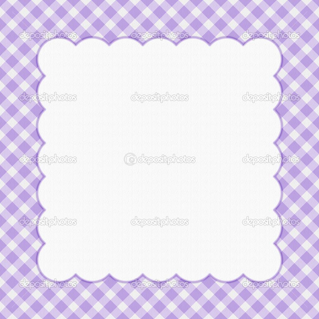 marco de celebración púrpura a cuadros para su mensaje o d. — Fotos ...