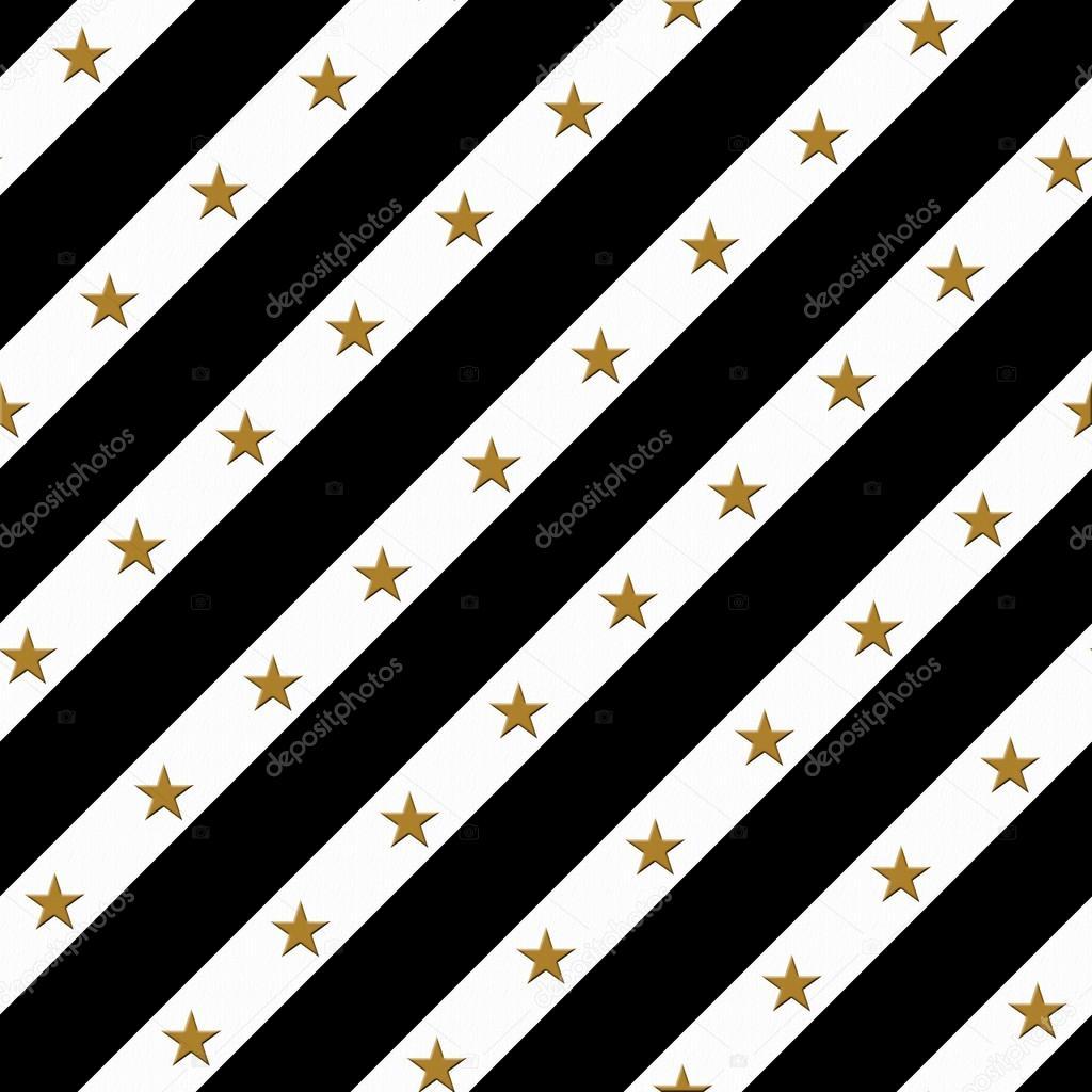 black gold and white striped fabric background u2014 stock photo