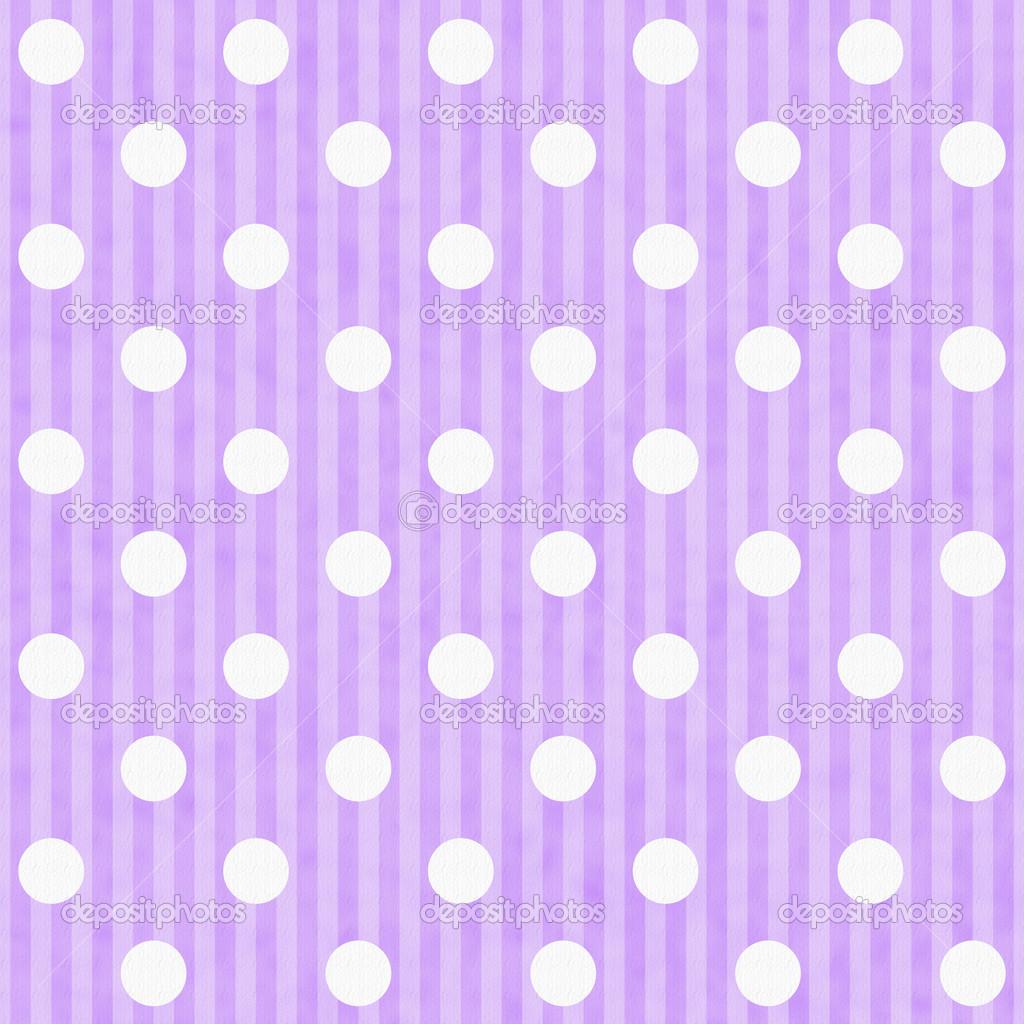 Fondo violeta con lunares blancos