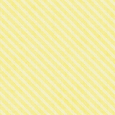 Yellow Striped Fabric Background