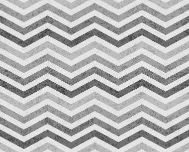 Gray Zigzag Textured Fabric Background