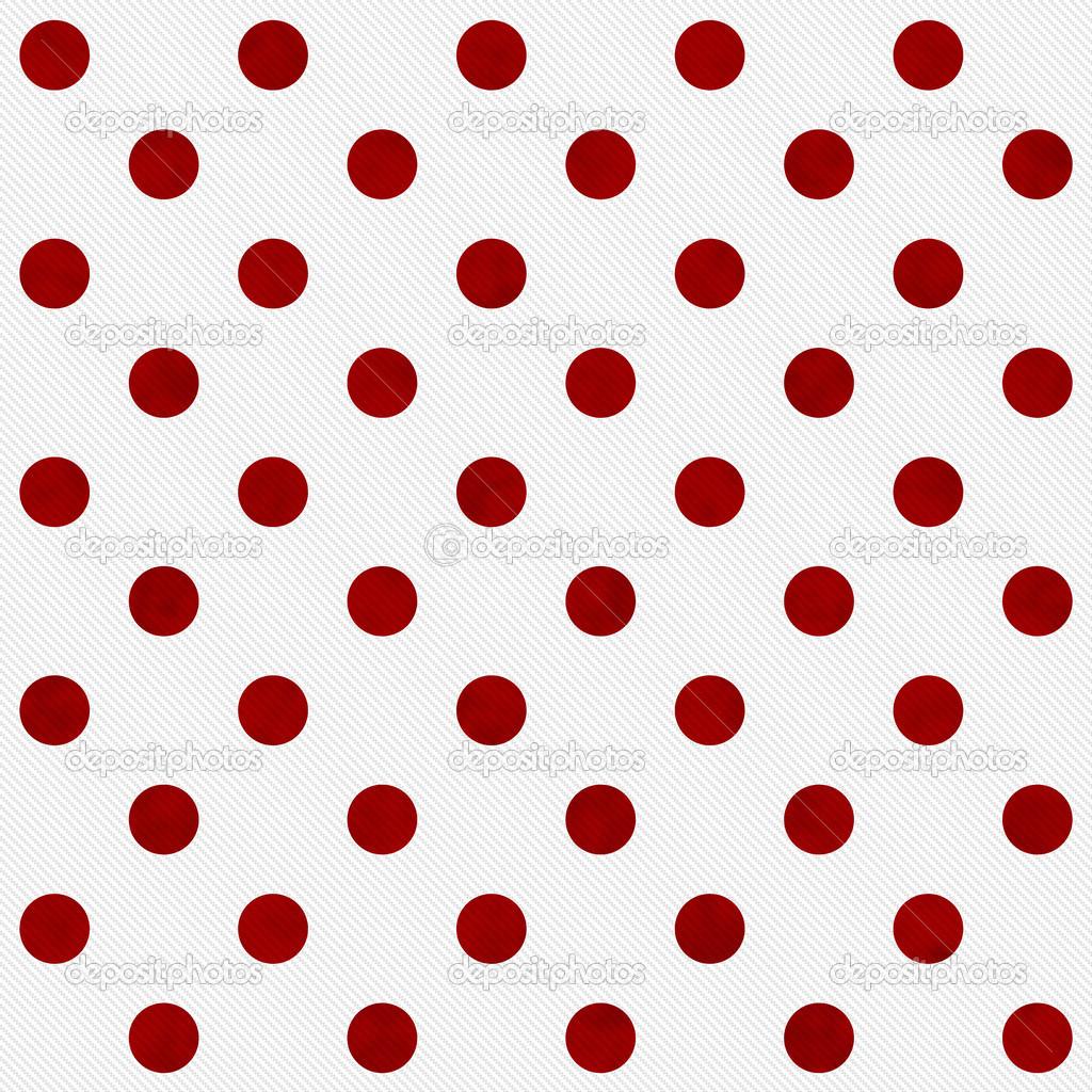 Pois Rosso Su Sfondo Bianco Tessuto Testurizzati Foto Stock