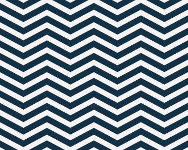 Navy Blue and White Zigzag Textured Fabric Background