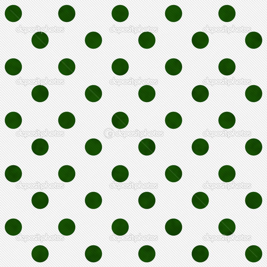 Lunares Blancos Verdes Online   Tela Verde Lunares Blancos