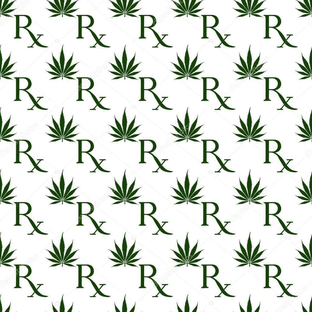 Green and white marijuana leaf and prescription symbol pattern r green and white marijuana leaf and prescription symbol pattern r stock photo biocorpaavc