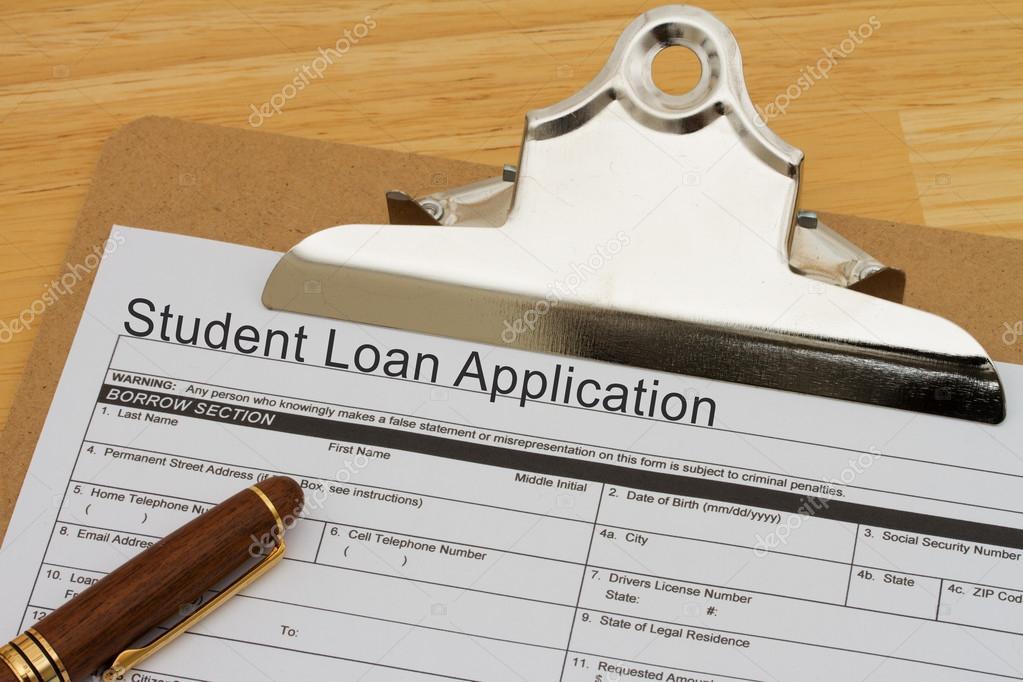 Student Loan Application Form — Stock Photo © Karenr #46655141