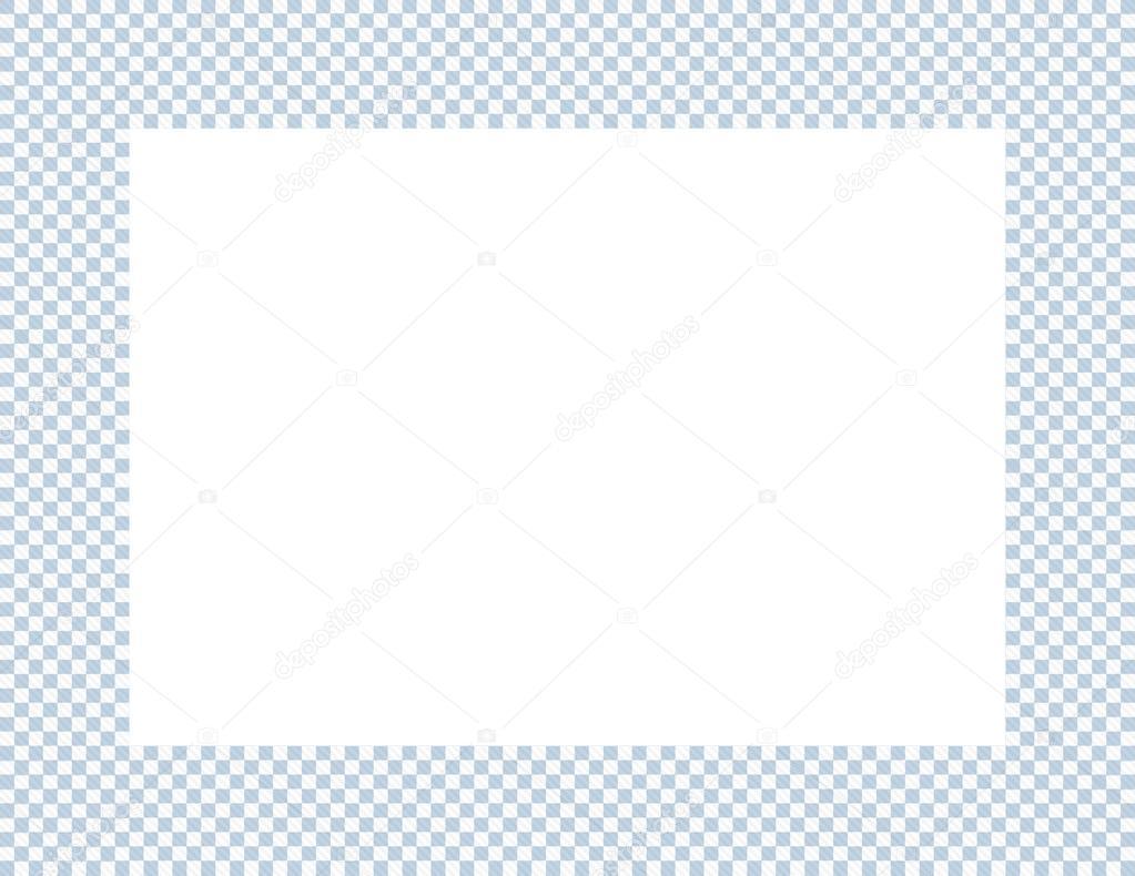 marco ligero azul y blanco a cuadros — Fotos de Stock © karenr #46948403