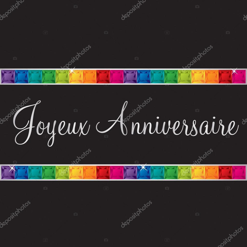 přání k narozeninám francouzsky francouzské