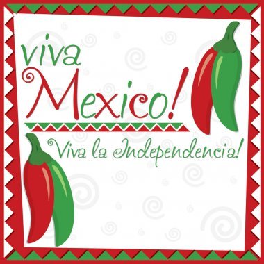 Mexican Independence Day card