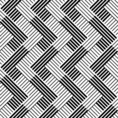 Fotografia modello con linea bianco e nero