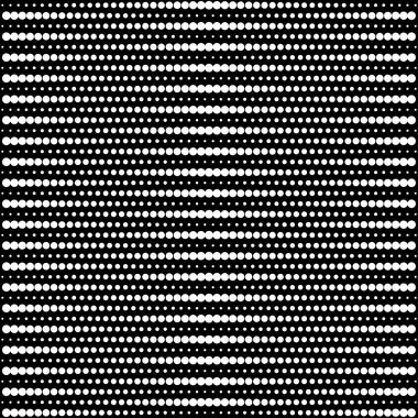 Vector halftone dots - black and white