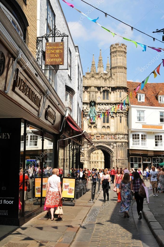 Canterbury Reino Unido Foto Editorial De Stock