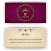 elegantní šablona pro vip luxusní pozvání