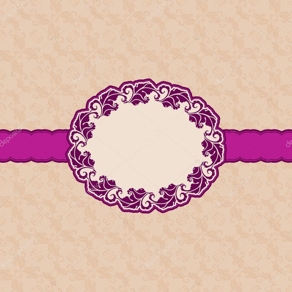 diseño de marco de plantillas para tarjetas de felicitación ...