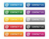 Kontaktujte nás tlačítka