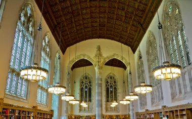 Yale University Sterling Memorial Library Study Hall