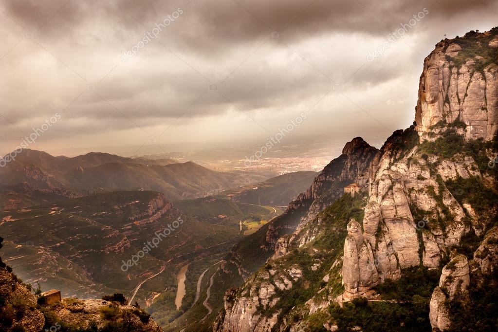 Santa Cora Chapel Cave Black Madonna Monastery Montserrat