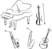 Fényképek hangszerek