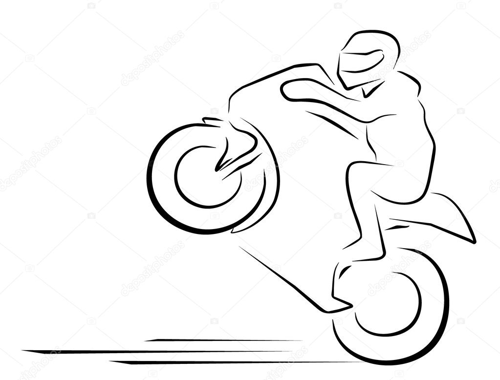 vector illustration moto race symbol stock vector redrockerz99 35383661. Black Bedroom Furniture Sets. Home Design Ideas