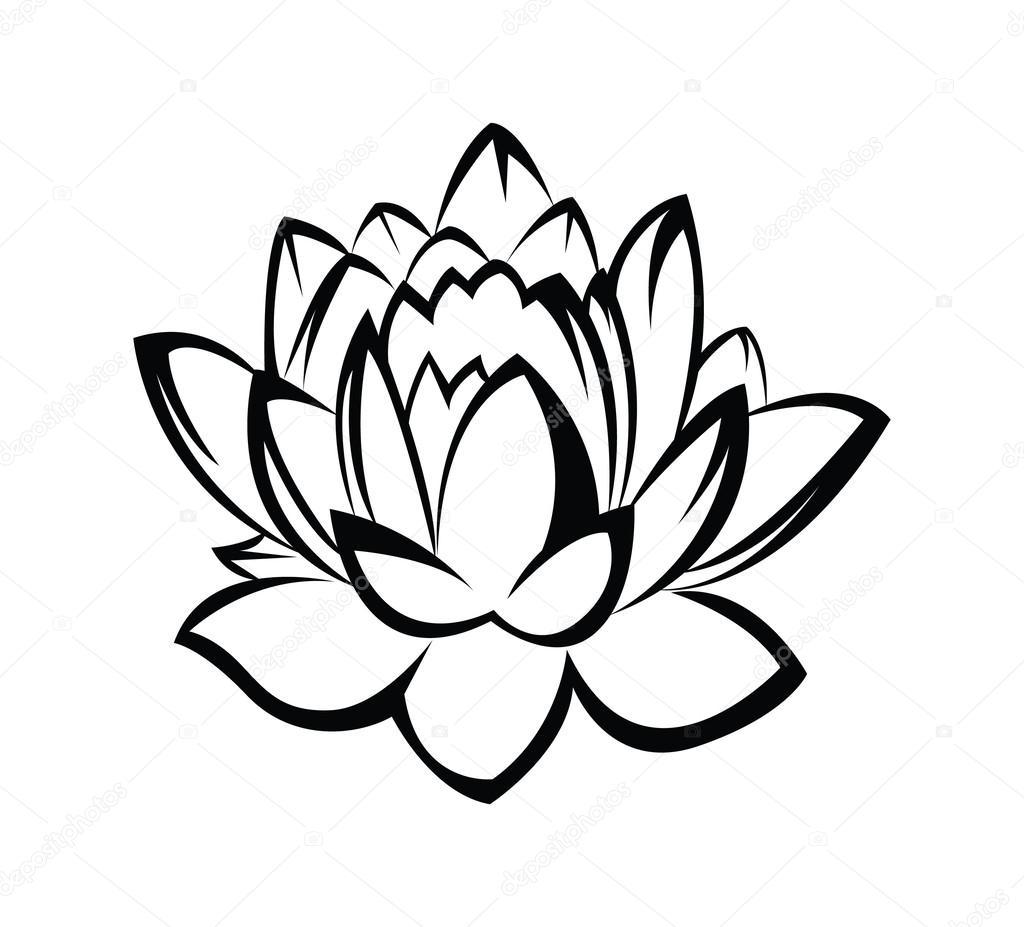 Lotus Flower — Stock Vector © redrockerz99 #41321379