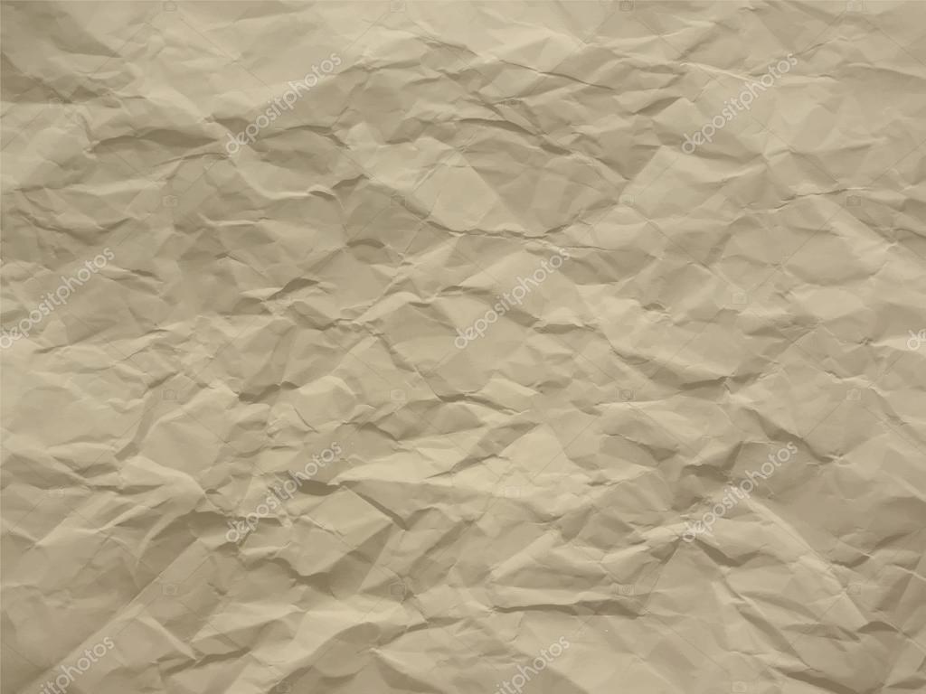 Creased paper in ecru shades