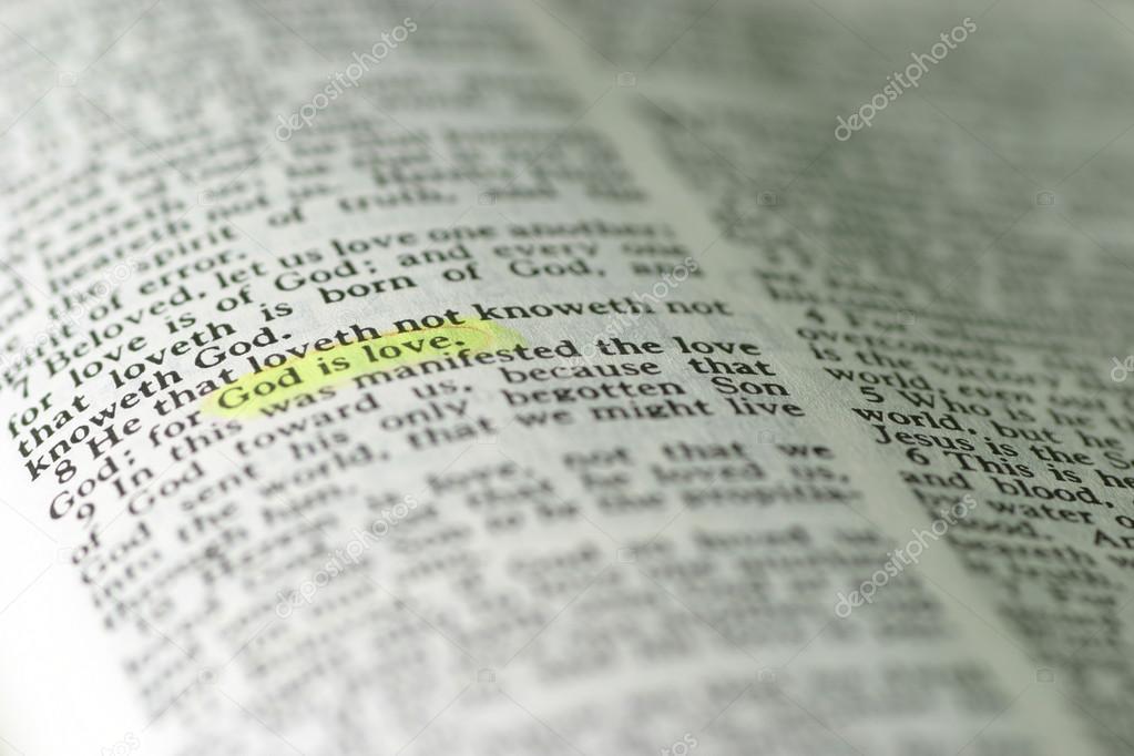 Imágenes La Santa Biblia Con Frases Frase Marcada En La