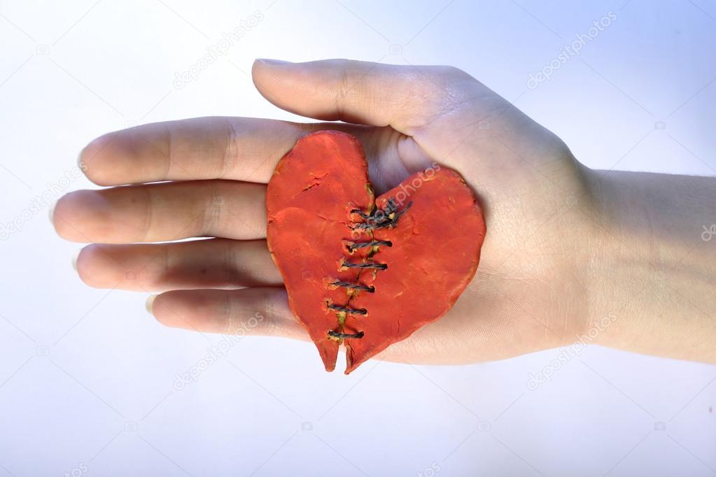 reparado el corazón humano — Foto de stock © yogo #18645219