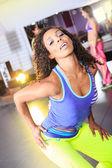 aerobic dívka