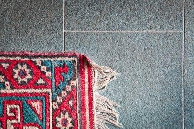 Corner of rug