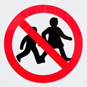 děti zakázáno