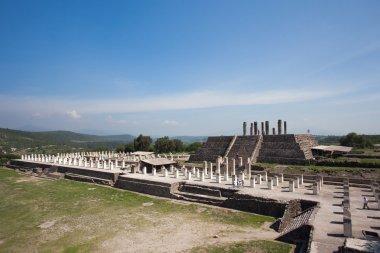 Ancient ruins of Tula de Allende