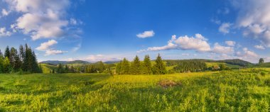 Panorama the Carpathians