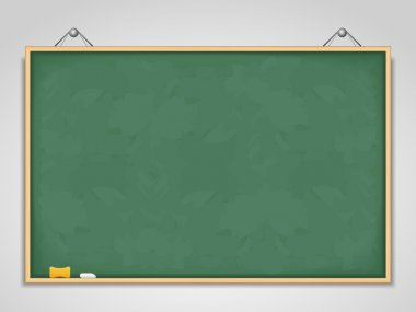 Big Horizontal Green Blackboard