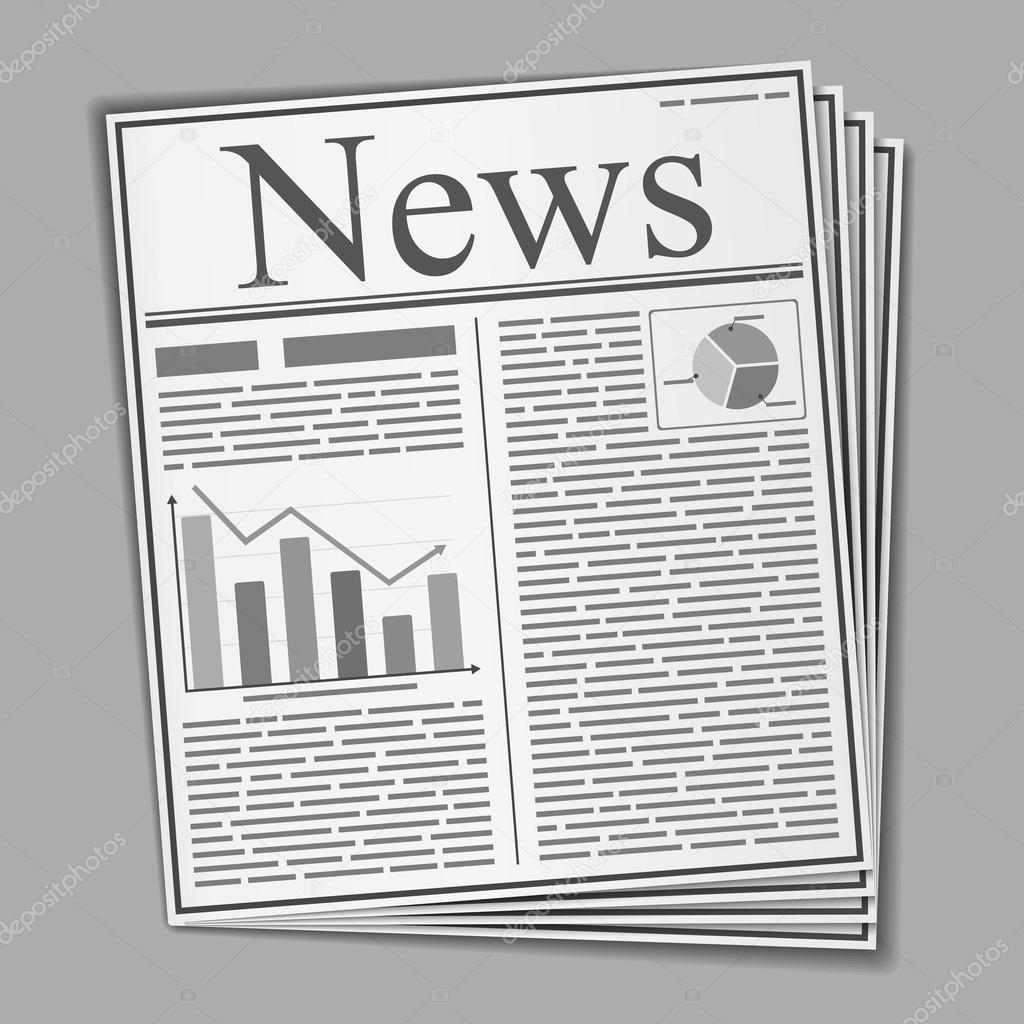 periódico — Vector de stock © human_306 #21931843