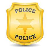 Fotografia Distintivo di polizia