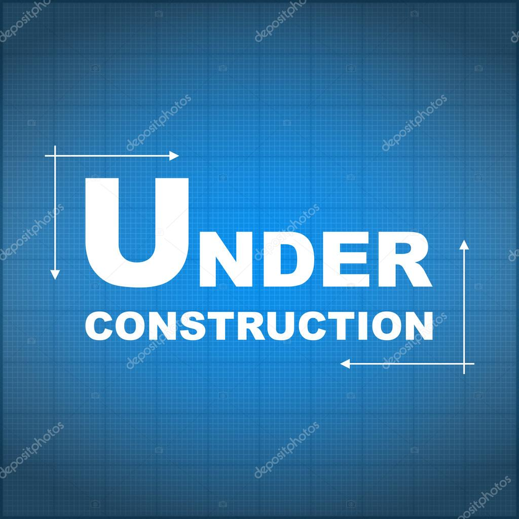 Under construction blueprint stock vector human306 29173849 under construction blueprint vector eps10 illustration vector by human306 malvernweather Images