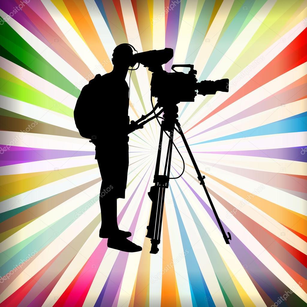 Картинках для, прикольная картинка кинооператор