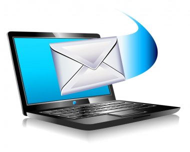Email mailing the world SMS Laptop