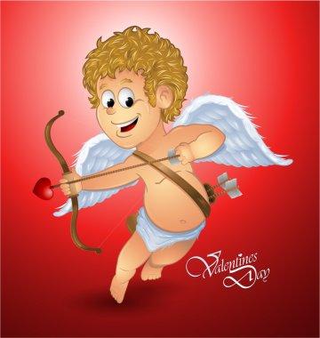Valentine's day cupid