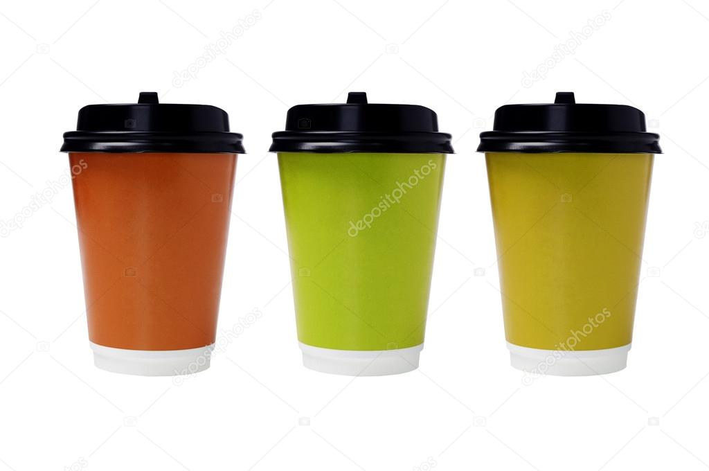 Disposable Paper Cups — Stock Photo © design56 #12528406