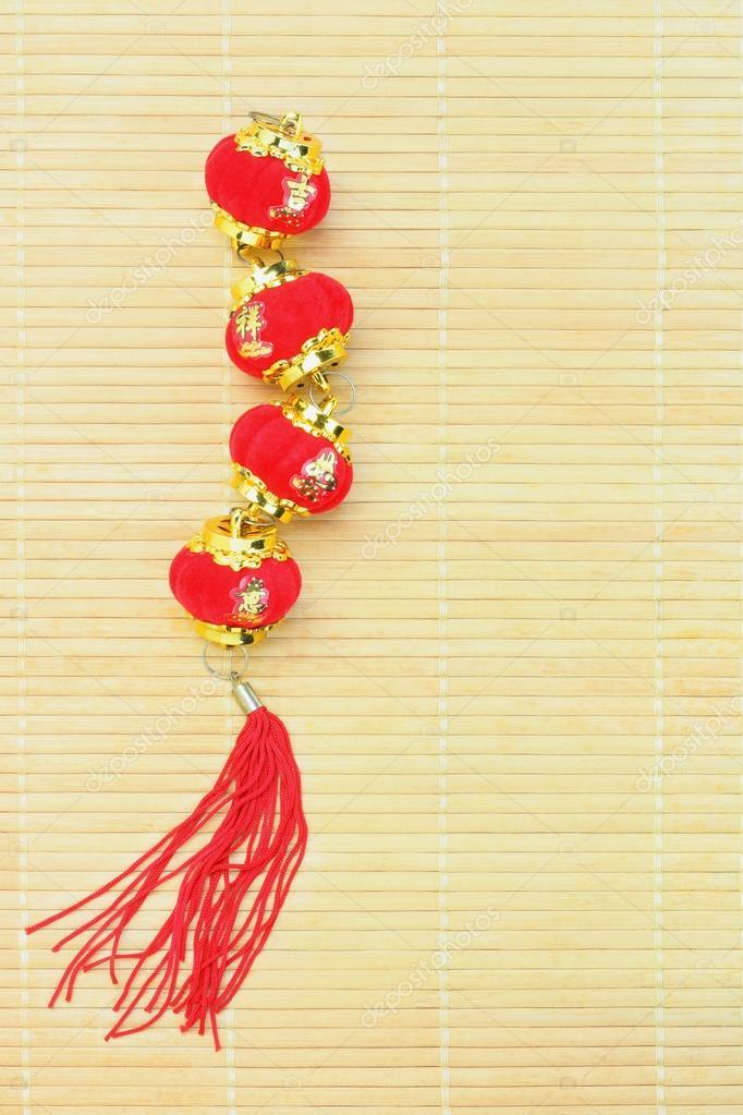 Chinesisches Neujahr-Laterne-ornament — Stockfoto © design56 #39102497