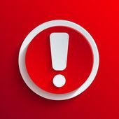 Vektor vörös kör ikonra. Eps10