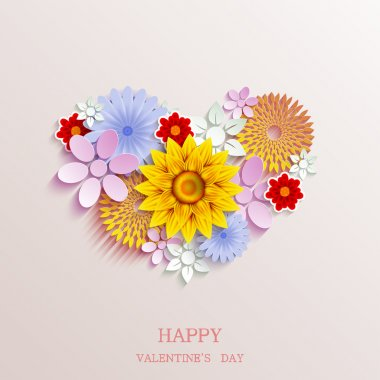 Vector valentines day background clip art vector