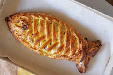 Fishy pie