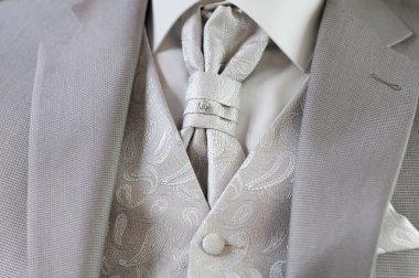 Decoration on man suit